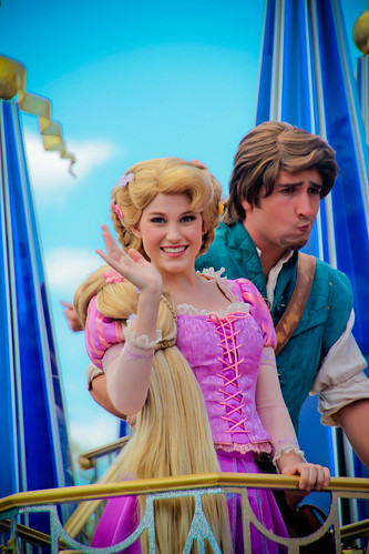 Rapunzel and Flynn Rider | by abelle2