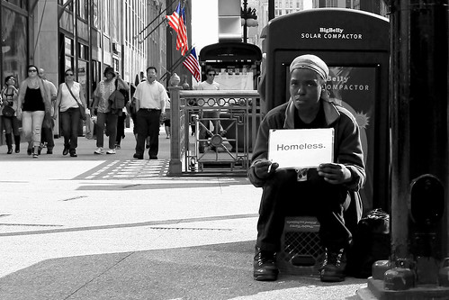 Homeless in Chicago | by Adam Grim
