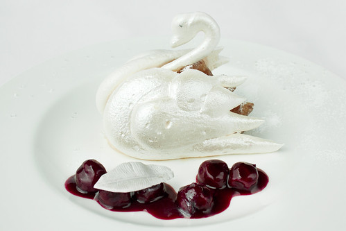 A Swan Lake dessert © Royal Opera House Restaurants 2012 | by Royal Opera House Covent Garden
