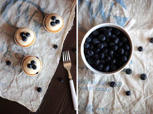 Blueberry Cream Cheese Cupcakes | by pastryaffair
