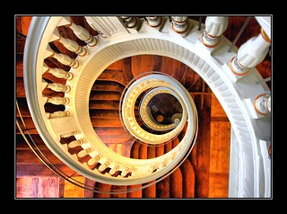 Staircase - Treppenhaus. | by Haldorfer