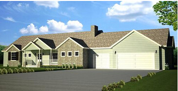 H107 Executive Ranch House Plan 2000 SQ FT Main 4 Bedroom ... on home plans under 600 sq ft, home plans under 700 sq ft, home plans under 1500 sq ft, home plans under 500 sq ft,