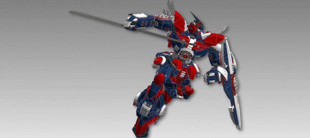 Gundam Chroma S4 Balthious Ldd Building Instructions By Flickr