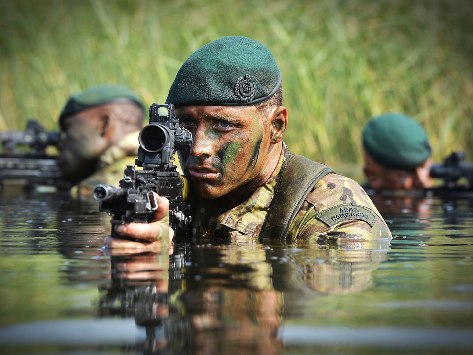 a picture taken of a corporal from 24 army commando engine… | flickr
