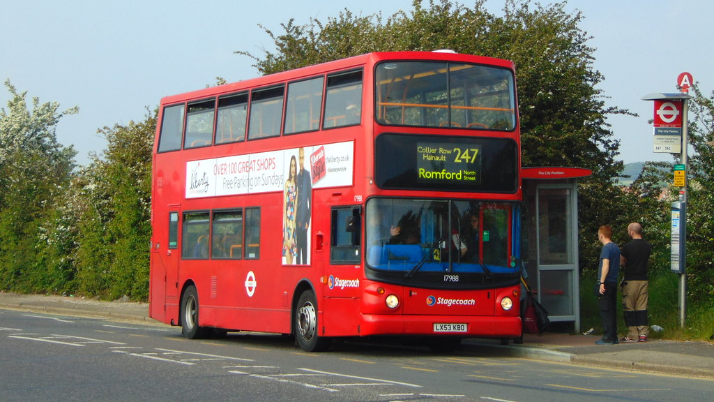 ... Networker_Express Stagecoach East London 17988/LX53KBO, Marks Gate | by  Networker_Express
