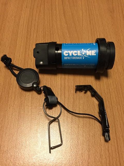 Cyclone Impact Grenade strap