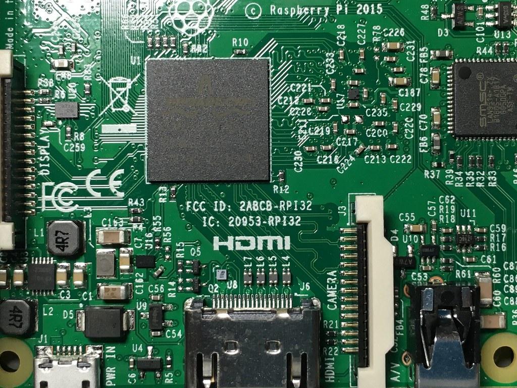 Circuito Impreso : Circuito impreso circuit board raspberry modelo b flickr
