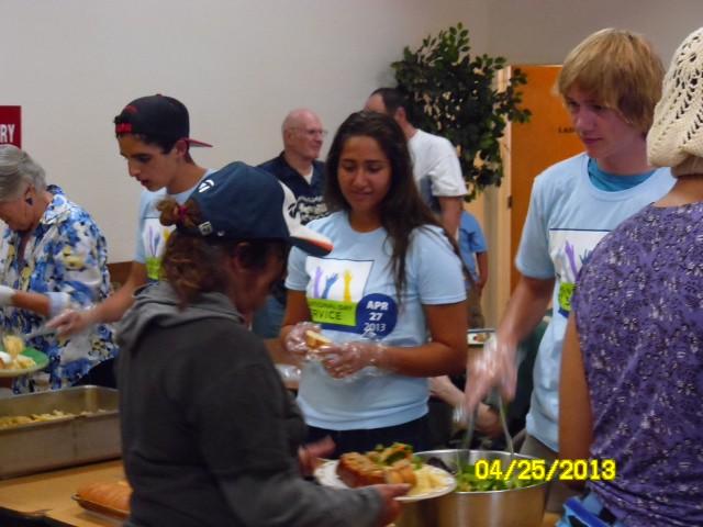 Soup Kitchen - San Diego Area Team | AFS-USA Intercultural Programs ...