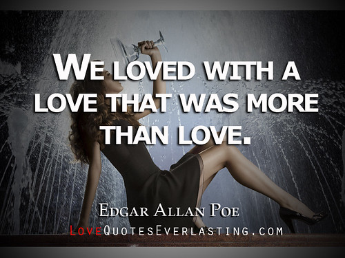 Edgar Allan Poe Love Quotes, Quotations & Sayings 2018