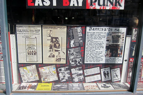 Berkeley - Rasputin Music: East Bay Punk - Barrington Hall | by wallyg
