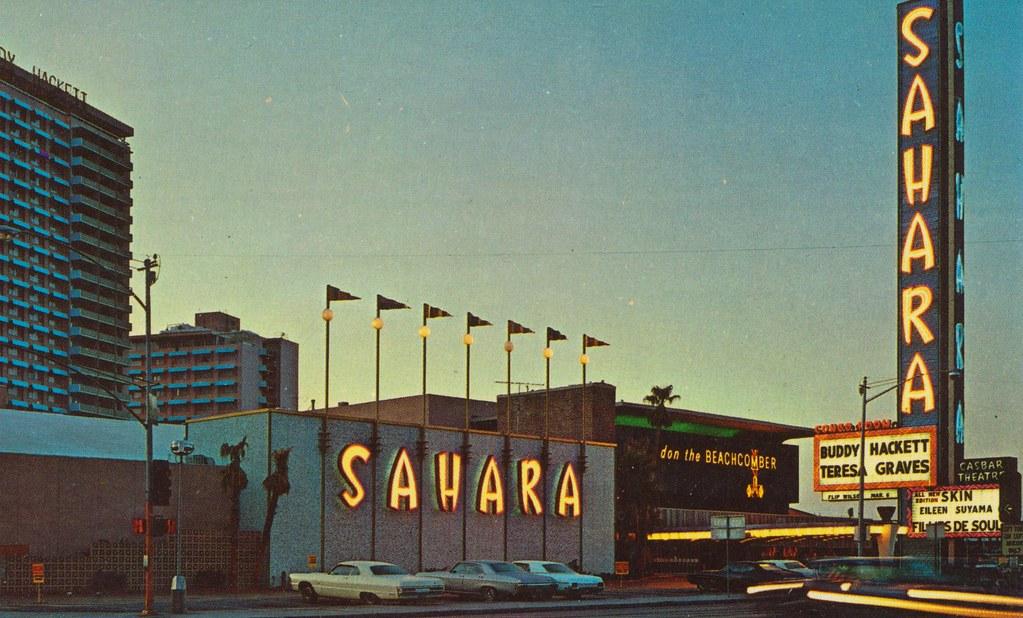 Sahara Hotel - Las Vegas, Nevada