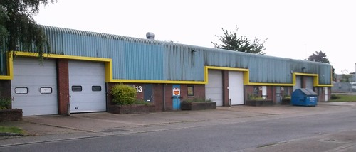 Daventry factory unit