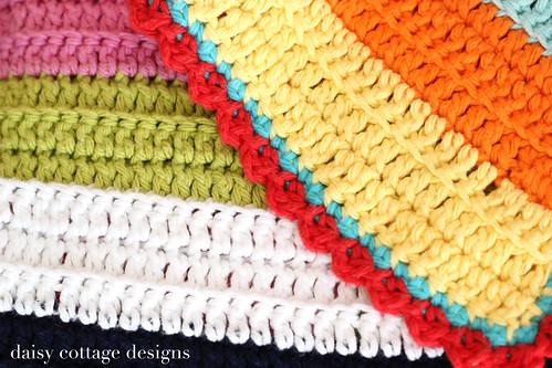 Easy Scalloped Crochet Edging Free Pattern : easy edging Lauren Brown Flickr