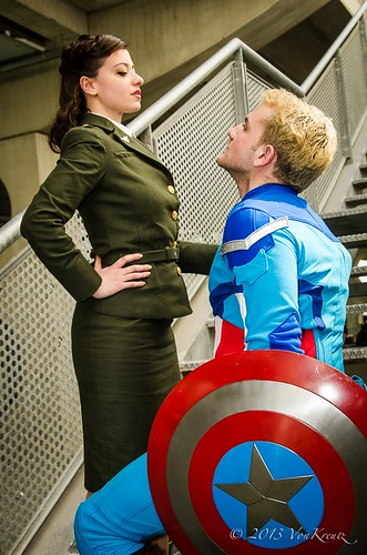 Captain America And Peggy Comic | peggy carter and captain