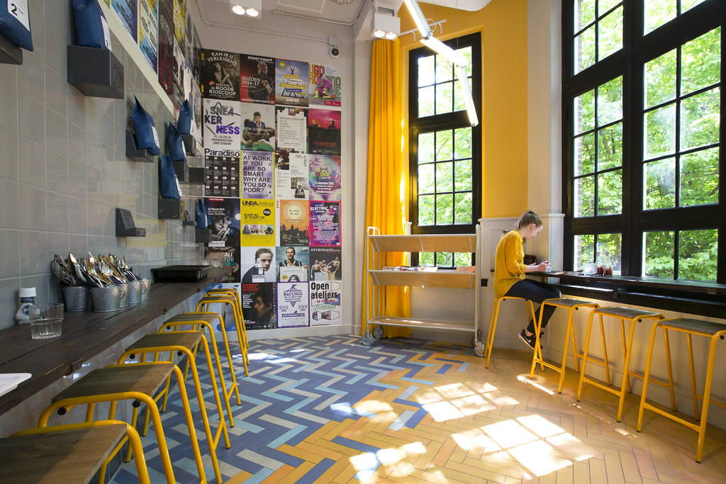 Generator Hostels Amsterdam : Generator hostel amsterdam excellent coffee with park viewu flickr
