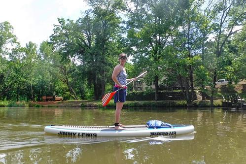 Kayaking and SUP on Saluda Lake-21