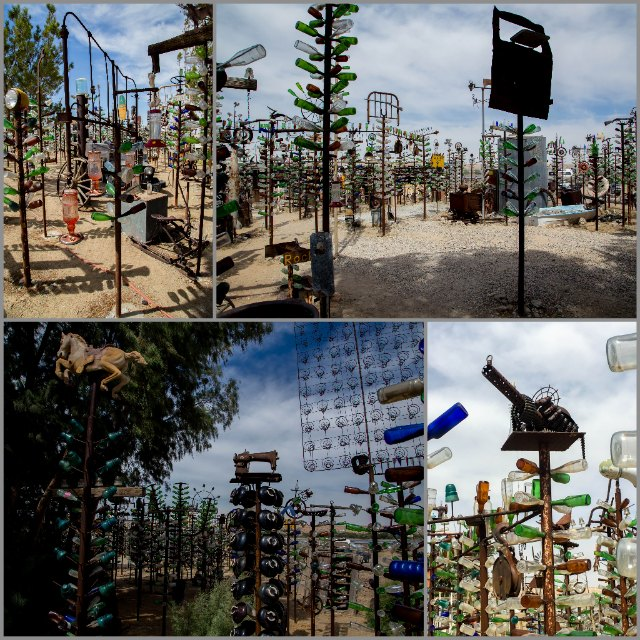 Bottle Tree Ranch collage