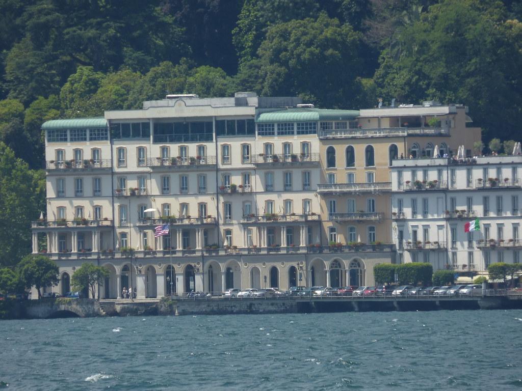 Grand Hotel Cadenabbia Lake Como Seen From Bellagio Flickr