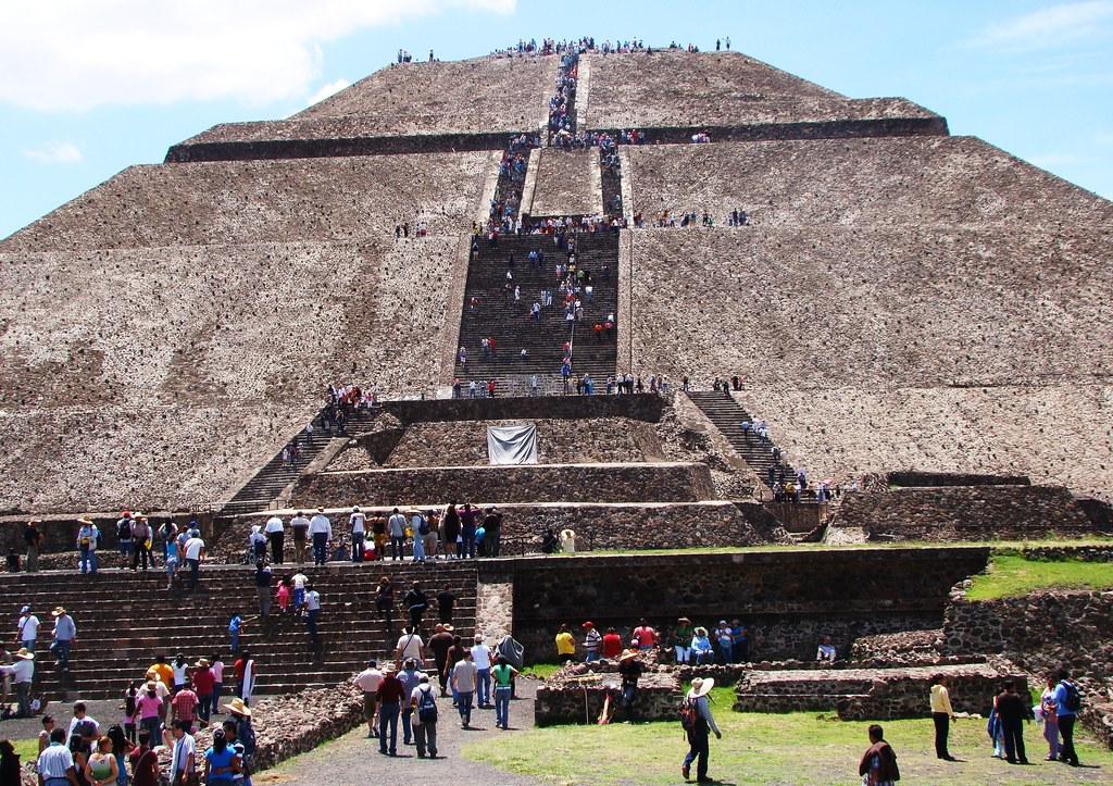 tenochtitlan pyramid of the sun