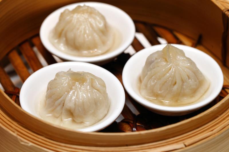 Steamed Chicken Xiao Long Bao