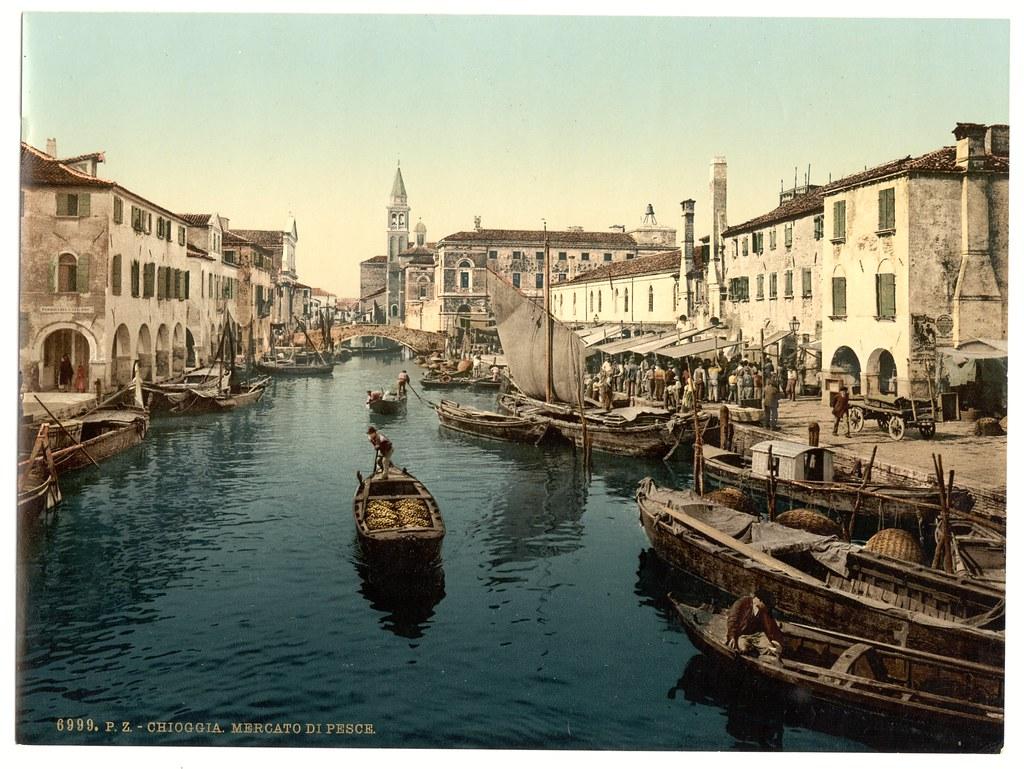 Chioggia, fish market, Venice, Italy-LCCN2001701048