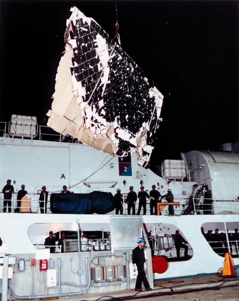 STS-51-L Debris Aboard the USC...