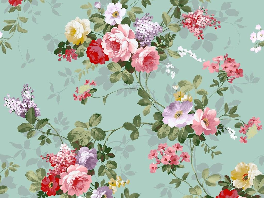 Vintage Floral Iphone Wallpaper Free Desktop