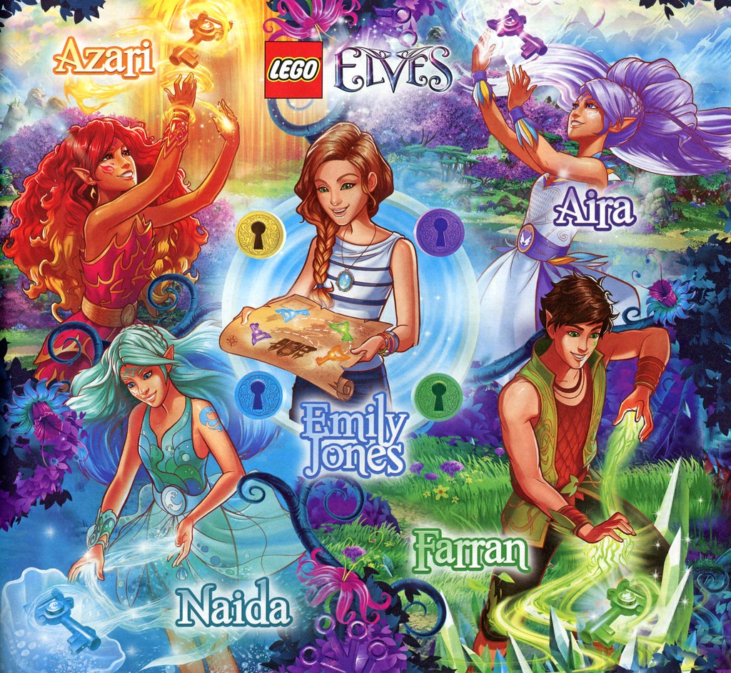 Lego Elves Characters