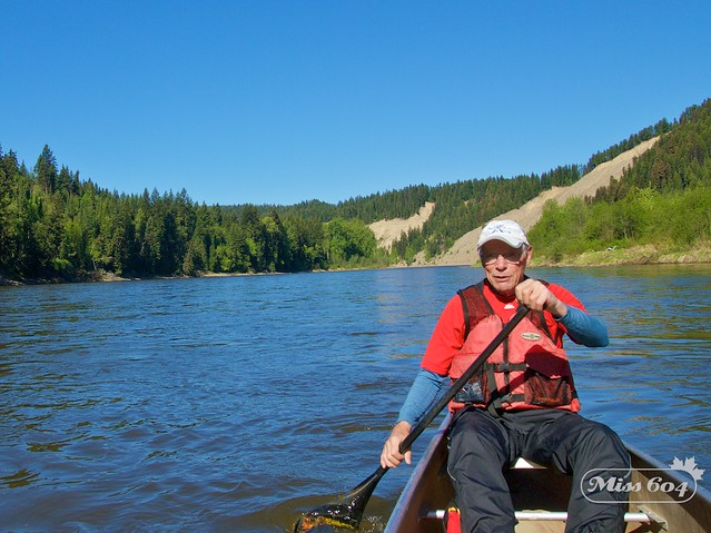Canoe on the Nechako River