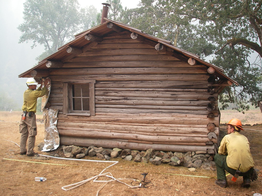 By BLM Firefighters Save Zane Greys Historic Cabin From Wildfires Along Oregons Rogue River