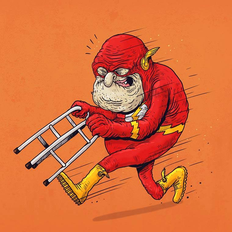 Famous Oldies by Alex Solis - The Flash