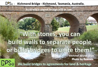 GPSu - Richmond Bridge - build walls or bridges - we build bridges to agreements | by gpsu.land