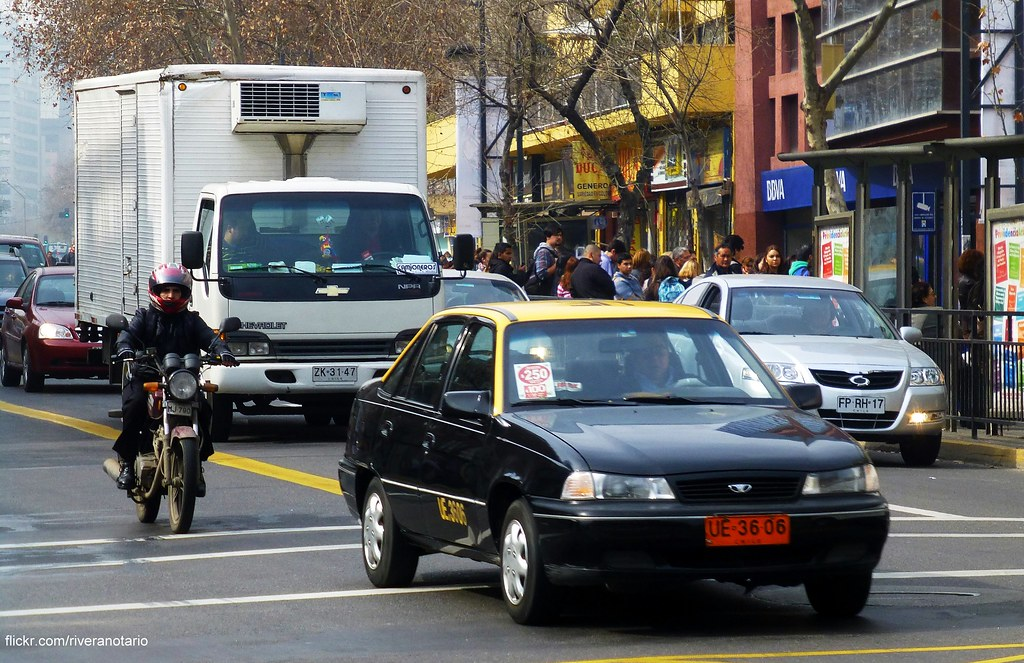 Daewoo Heaven Taxi - Santiago, Chile   RiveraNotario   Flickr