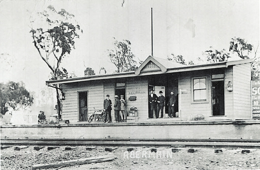 Abermain Railway Station Abermain Nsw C 1910 Flickr