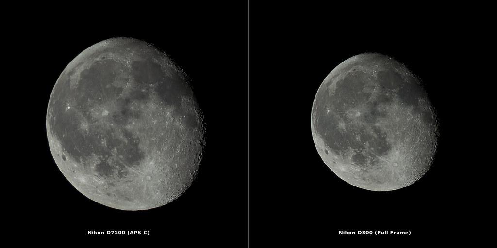 D7100(APS-C) vs D800 (Full Frame) | The same lens using diff… | Flickr
