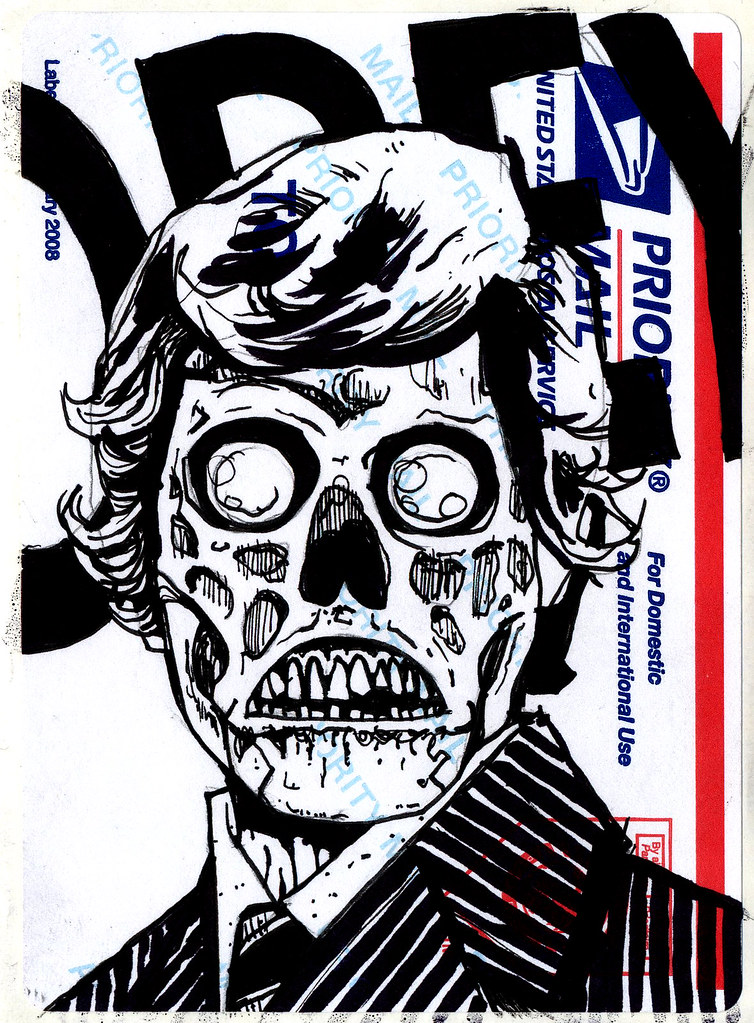 By danny martin art they live by danny martin art