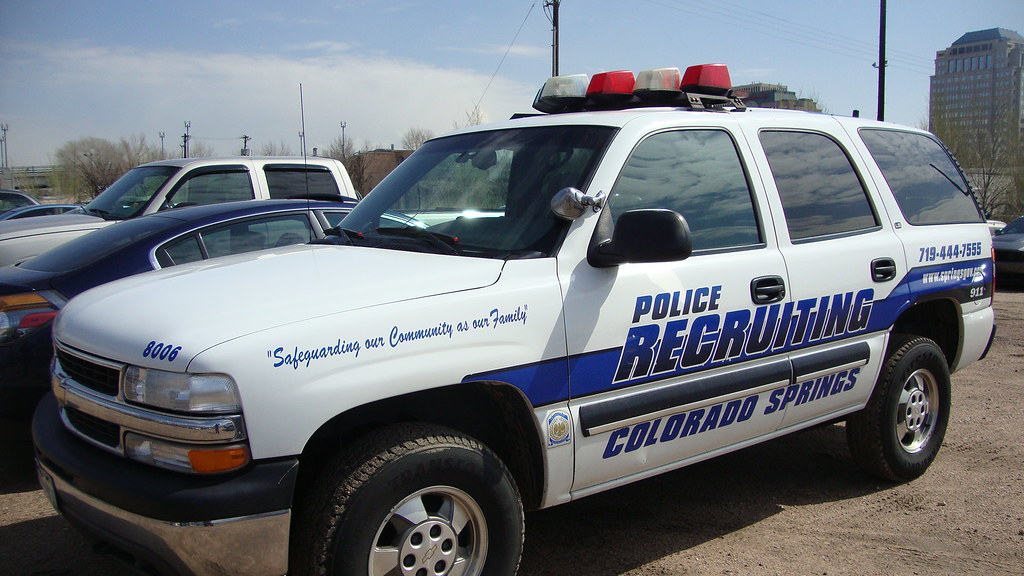 Cspd Chevy Tahoe Colorado Springs Police Department Marked Flickr