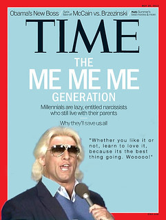 Ric Flair on Time Magazine | by Max Gaines