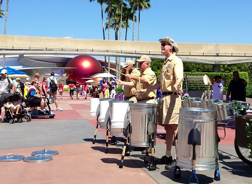 Percussion in EPCOT | by Erin *~*~*