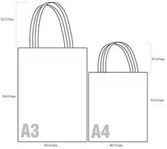 Tote-Bag-Size | brownfishpaperbox | Flickr