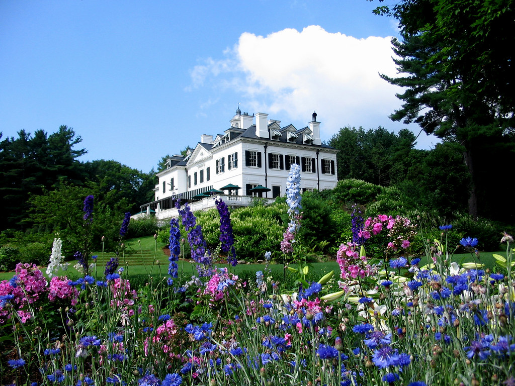 ... Berkshire Gardens  The Mount, Edith Whartonu0027s Home, Lenox, MA; Photo  Credit