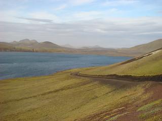 105 Korte tussenstop bij Frostastaða-vatn