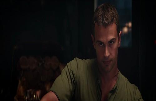 Theo James As Tobias Four Eaton In English Hollywood Movie