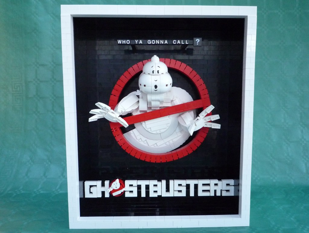 Amazon.com: GHOSTBUSTERS Names and No Ghost Logos Set of 8 ...