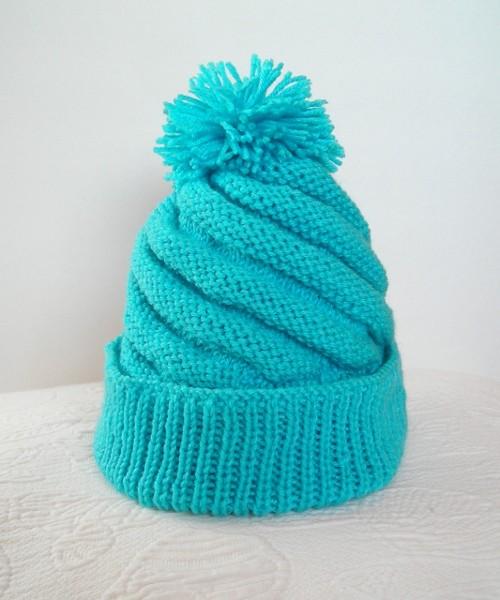 Swirl Knit Hat 2015 Adult Size Free Pattern On Ravelry Flickr