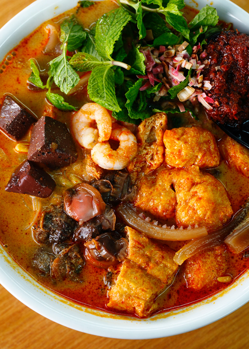 Jia Li Mian Penang Curry Mee Sambal