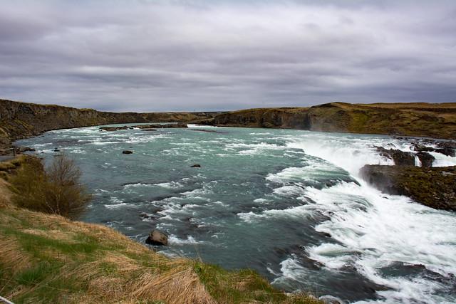 Urriðafoss waterfalls