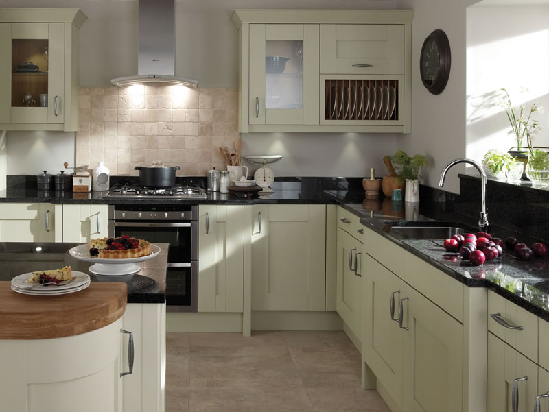 milbourne sage kitchen by diy kitchens - Sage Kitchen