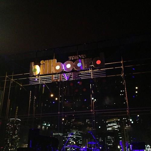 ビルボードライブ東京。2回目。
