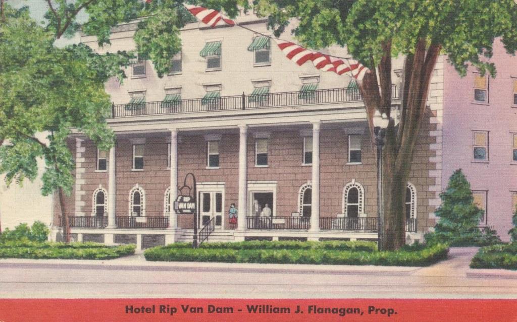 Hotel Rip Van Dam - Saratoga Springs, New York
